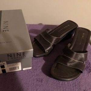 Nine & Company by Nine West brown heels 9 M